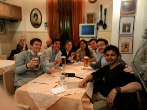 RR Toastmasters club dinner after meeting_20150423